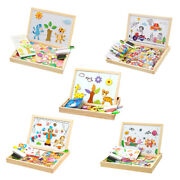 Wooden Magnetic Drawing Board 3d Puzzles Drawing Toys For Kid Halloween Gift