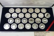 Treasure Coins Of The Caribbean Sterling Silver 25 X 20 Coins Free Shipping