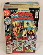All Star Squadron 1-25 Complete Set Comic Lot Justice Society Jsa Roy Thomas
