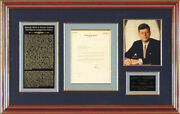 John F. Kennedy - Typed Letter Signed 07/20/1953