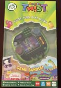 Leap Frog Rockit Twist Game Bundle Green Rotatable Learning Game System-unopened