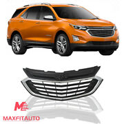 Fits 2018 2019 2020 Chevrolet Equinox Front Upper Grille Chrome