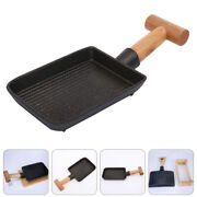 Steak Roasting Pan Barbecue Frying Plate Grill Plate Sturdy Kitchen Accessory