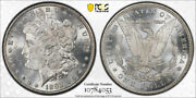 1892 Cc 1 Morgan Dollar Pcgs Ms 62 Uncirculated Cac Approved Carson City Mint