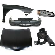 Bumper Cover Kit For 2000-2005 Chevy Monte Carlo Front 5pc