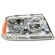 Headlight For 2003 2004 2005 Lincoln Aviator Right Hid With Bulb