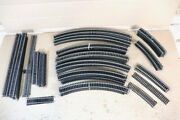 Hornby Job Lot Of 1970and039s Straight And 1st 2nd 3rd Radius Curve Track 2nz