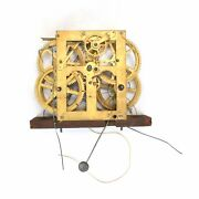 Clock Movement 30 Hour Weight Driven Time And Strike Clock Movement - Kk1811