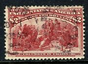 [w] Us 242 Used1893 Classic 2 Columbian Exposition Stamp...ships Free