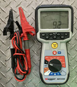 Megger Mit2500 2.5 Kv High Voltage Hand-held Insulation And Continuity Tester