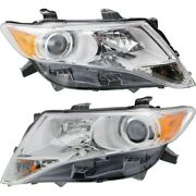 Headlight For 2009-2016 Toyota Venza Pair Driver And Passenger Side Capa