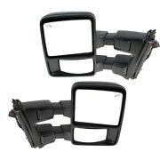 Tow Mirror Set For 2010 2016 Ford F250 Super Duty Left And Right Side Power Heated