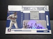 Hank Aaron 2005 Absolute Tools Of The Trade Game Used Jersey Auto Autograph /25