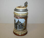 Antique Mettlach Stein Number – 1/2 Liter – Cologne Cathedral