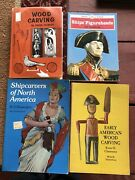 Wood Carving Lot Of 4 Books Ship Figureheads Early American Skinnerandrsquos Carving