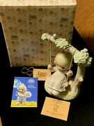 Precious Moments 524085 My Warmest Thoughts Are You-1991 Sjb- G-clef-mint In Box