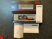 """Marklin Spur Z Scale/gauge. D And Rg """"mogul"""" Steam Locomotive And Tender. Rare."""
