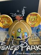 Disney Enchanted Tiki Room Mickey Mouse Ears Hat Embroidery Shag Limited Release