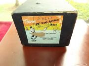 Vtg Penn Noand039and03949and039and039 Deep Sea Fast Action Fishing Reel W/ Box Braided Line + Extras