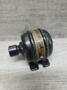 Vintage Howell Red Band Motors Cast Iron Advertising Paperweight Sales Sample