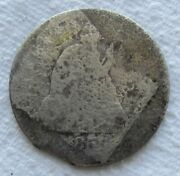 1856-s Seated Liberty Silver Quarter Rare Key Date Damaged Filler