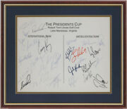 Presidentand039and039s Cup - Autograph With Co-signers