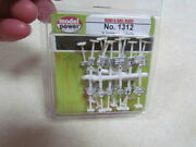 N Gauge Accessory 24 Piece Set Of Road And Rail Signs - Mint In The Package