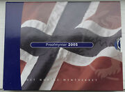 Proof Coins Of Norway 2005 Coin Set