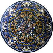 52 Marble Center Dining Pietra Dura Stones Handmade Floral Inlay Art Table Top