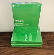 Microsoft Project Professional 2016 ✅ - 32/64 Bit - Brand New And Sealed