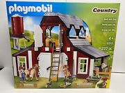 Playmobil 9315 Barn With Silo - New Factory Sealed