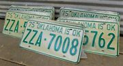 Set 50 License Plates Lot Vintage Automobile Car Truck Tags Some Consecutive Iy