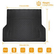 All Weather Heavy Duty Pvc Rubber Trunk Mat Non-slip For Car Suv Van Cargo Liner