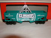 Lionel 6-26488 Ice Breakers Hopper O 027 Hershey's Collection Mib New 2013