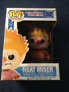 Funko Pop 02 Heat Miserthe Year Without A Santa Claus Vaulted Rare Box Damage