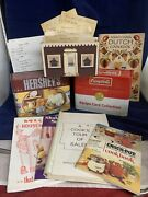 Vintage Campbelland039s And Hersheyand039s Recipe Tins/recipe Cards/old Hand Written Recipes