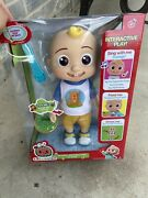 Cocomelon Official Deluxe Interactive Jj Doll With Sounds
