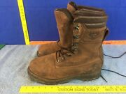 Cabelas 81-0616 Gore-tex Insulated Brown Leather Hunting Boots Menand039s 12 D