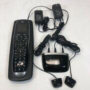 Logitech Harmony 900 Remote And Cradle W/ir Blaster O-r0002 - Tested - Please Read