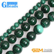 Natural Malachite Grade A Stone Round Beads Free Shipping 15 3mm 6mm 7mm 8mm