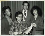 1981 Press Photo Naacp Presidents And Officers At St. Paul's Baptist Church