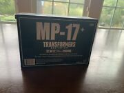Transformers G1 Takara Masterpiece Mp-17+ Prowl Authentic Complete Mp17 Unopened