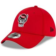 Nc State Wolfpack New Era Campus Preferred 39thirty Flex Hat - Red