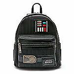 Loungefly Star Wars Mini Backpack Darth Vader Design Artificial Leather From Jpn