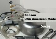 American Made Babson Bros.milking Machine Surge Cow Vacuum Pump Complete System