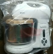 Kenmore Ksm035 16 Speed Kitchen Stand Mixer W/ Bowls Box Has Oil Spill On It