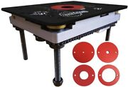 Sawstop Rt-lft Precision Router Table Lift 11 3/4 X 9 1/4 Inch Aluminum Plate