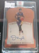 Dand039angelo Russell 2015-16 Panini Crown Royale Auto Rookie Sealed 43/85
