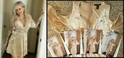 Michelle Baena Playboy Personally Owned Worn Autographed Signed Dress And 4 Photos