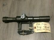 Psl Lbs4x6 Scope 1981 Dated Bring Back 2003 With English Adjust Marking